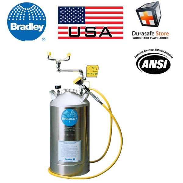 S19-690-Portable-10-Galon-Stainless-Steel-Pressurized-Eyewash-Tank-with-8-Drench-Hose-b-min