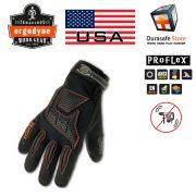 Gang-tay-chong-rung-hang-nang-ERGODYNE-9015F(x)-ProFlex-Heavy-Duty Anti-Vibration-Leather-Glove-Black