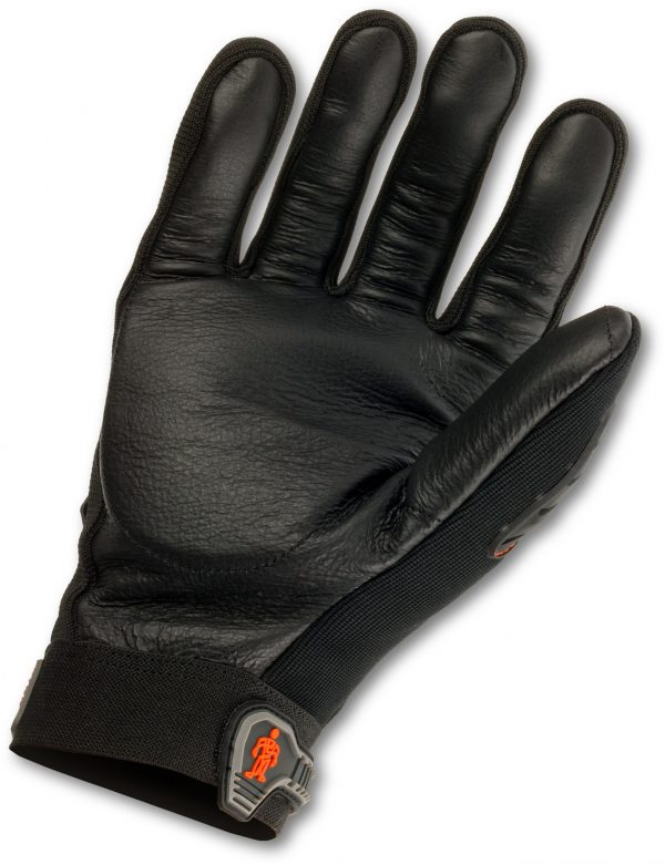 Gang-tay-chong-rung-hang-nang-ERGODYNE-9015F(x)-ProFlex-Heavy-Duty Anti-Vibration-Leather-Glove-Black 2