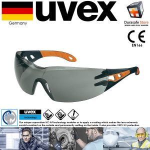 Kinh-bao-ho-an-toan-UVEX-9192245-Pheos-Safety-Glasses-Black-Orange-Frame-Grey-Supravision-HC-AF-Le