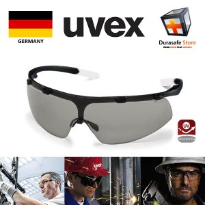 Kinh-bao-ho-an-toan-Uvex-9178851-Super-Fit-Safety-Glasses-Black-Frame-Grey-Variomatic-Len