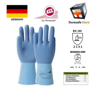 gang-tay-chong-hoa-chat-KCL–GERMANY-451-Camatex-Rough-Super-Grip-Natural-Latex-Glove-Blue-12″