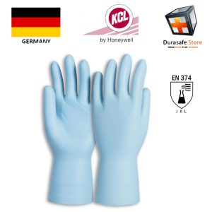 gang-tay-chong-hoa-chat-KCL–GERMANY-743-Dermatril-P-0.2mm-Chemical-Disposable-Nitrile-Unpowdered-Glove-Blue-50pc-Box