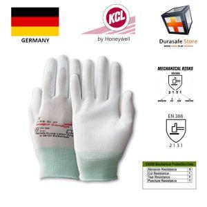 """gang-tay-chong-hoa-chat-KCL-GERMANY-616-Camapur-Comfort-Polyurethane-Coated-Polyamide-Glove-White-9½"""""""