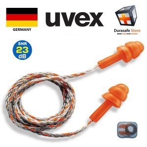 UVEX 2111201 Whisper Reusable Corded Earplug 23dB x 50 (Can sell in pair)
