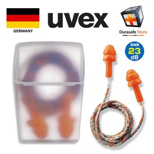 UVEX-2111237-Whisper-Reusable-Corded-Earplug-in-Case-23dB-One-Pair.