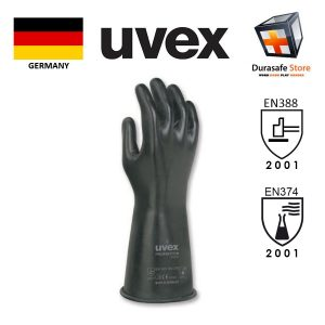 UVEX-60222-Proaviton-Chemcial-Resistant-Viton-Glove-Black-35cm