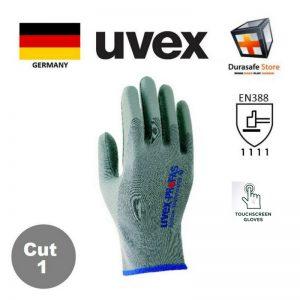 UVEX-60308-Airflow-Technology-NBR-Coated-Cotton-Glove-Grey-25cm-Safety-Gloves