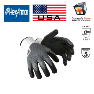Hexarmor-10-301-NXT-Cut-Puncture-Resistant-Nitrile-Coated-Palm-Glove-Gray-Black-Size-M-XL