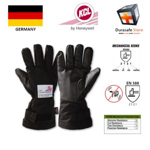 KCL-–-GERMANY-633-WaveBreaker-Anti-Vibration-Leather-Glove-Black-13″-Size-10