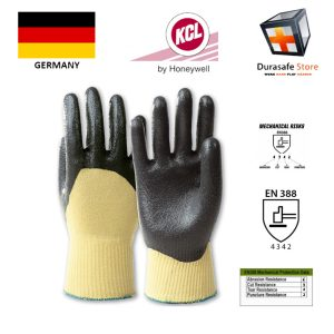 KCL-–-GERMANY-860-K-NIT-Nitrile-Palm-Coated-Cut-Resistant-Para-Aramid-Knit-Wrist-Glove-Yellow-Black-10″-Size-910