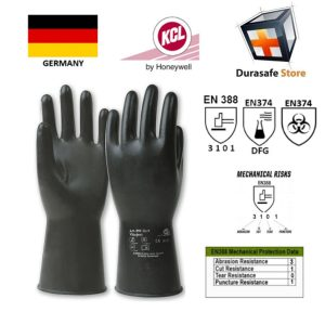 KCL-–-GERMANY-890-Vitoject-Extreme-Chemical-Gastight-Viton-Glove-Black-14″-Size-8910