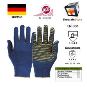 KCL-–-GERMANY-914-PolyTRIX-BN-Polyamide-with-PVC-Dots-Knit-Wrist-Glove-Blue-10″-Size-78910