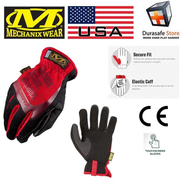 MECHANIX MFF-02 FastFit Glove Red