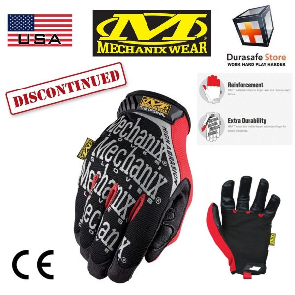 MECHANIX MGP-08 Original High Abrasion Glove Black Size M,L,XL,XXL