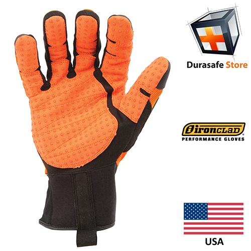 IRONCLAD Kong Original Impact & Slip Resistant Mechanics Glove Orange, USA, Size S – 3XL 1