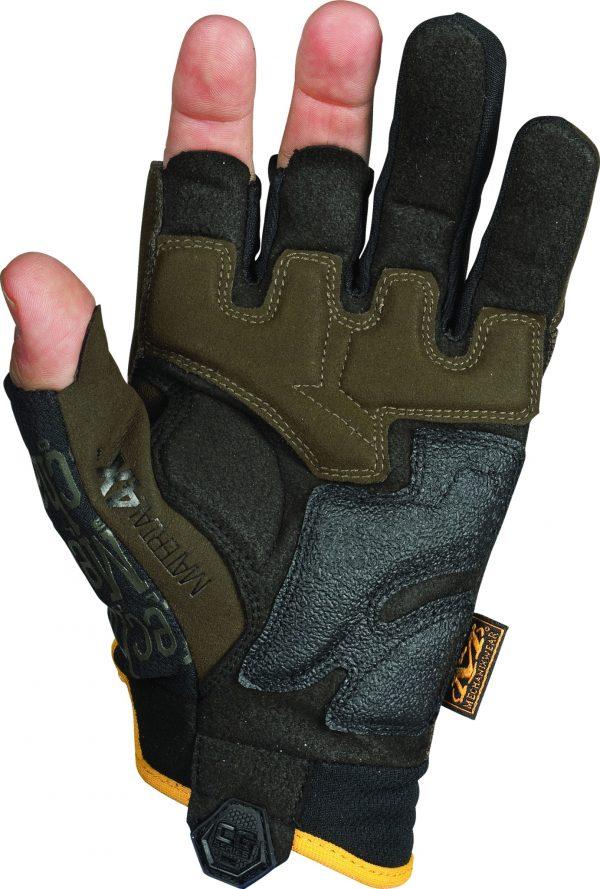 MECHANIX CG4F-29 CG4x Framer Fingerless Glove Brown 1