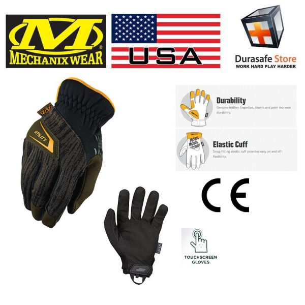MECHANIX CG4U-29 CG4x Utility Glove Brown