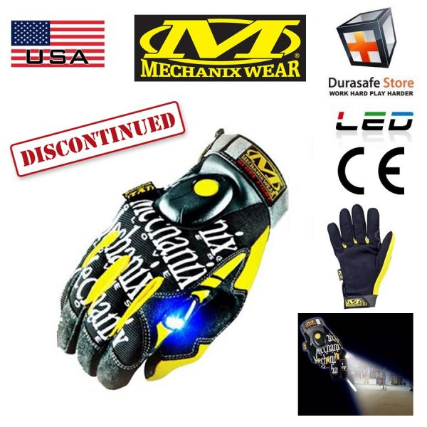 MECHANIX GL5-05 Glove Light Black Size M,L,XL
