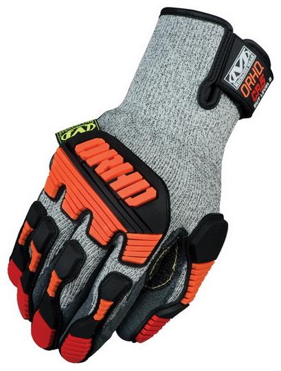 MECHANIX KHD-CR ORHD Knit CR5 Cut Resistant Glove Grey 1