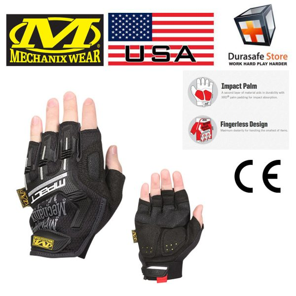 MECHANIX MFL-05 MPACT Fingerless Glove Size
