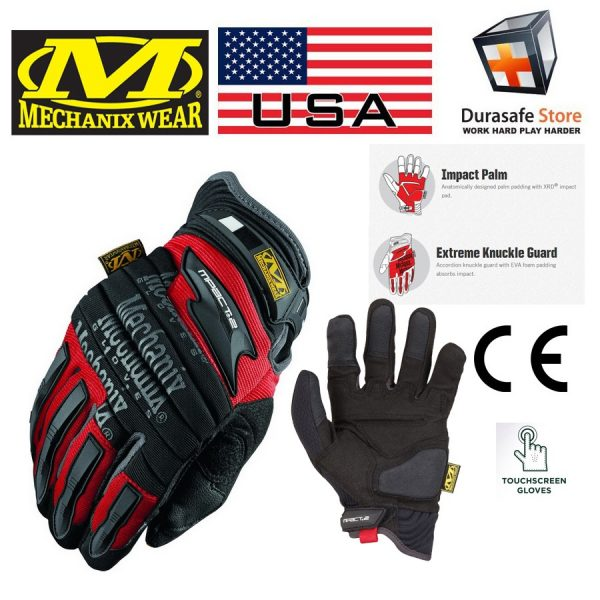 MECHANIX MP2-02 M-Pact 2 Heavy Duty Padded Impact Glove