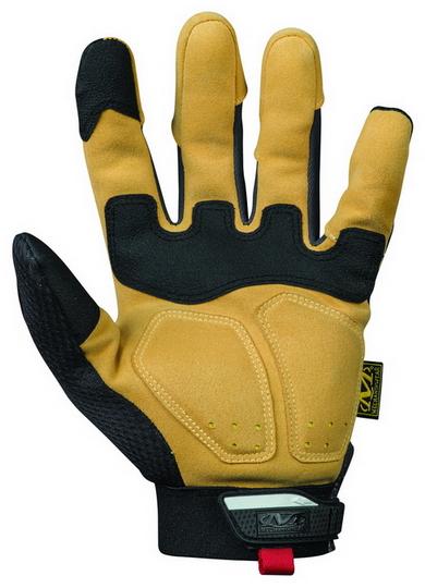 MECHANIX MP4X-75 4X M-Pact Impact Glove Black Brown