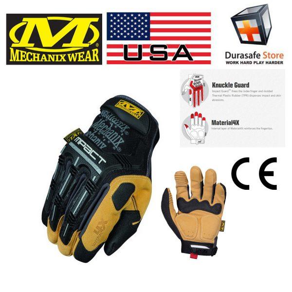 MECHANIX MP4X-75 4X M-Pact Impact Glove BlackBrown