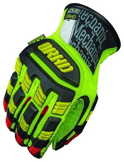 MECHANIX ORHD-91 Oil & Gas Impact Resistant Glove Hi-Viz Yellow 1