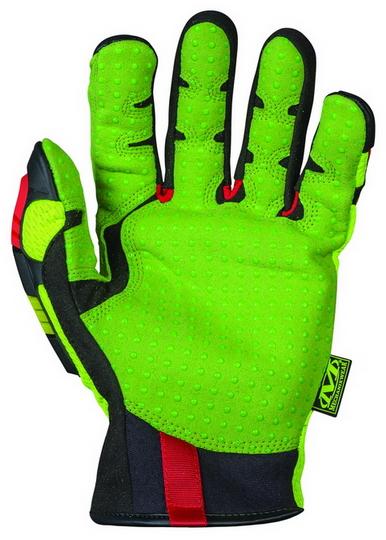 MECHANIX ORHD-91 Oil & Gas Impact Resistant Glove Hi-Viz Yellow 2
