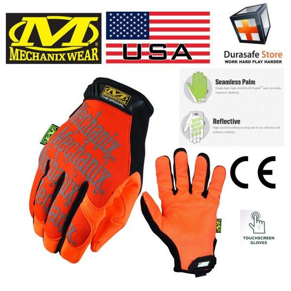 MECHANIX SMG-99 Safety Original Glove Hi-Viz Orange
