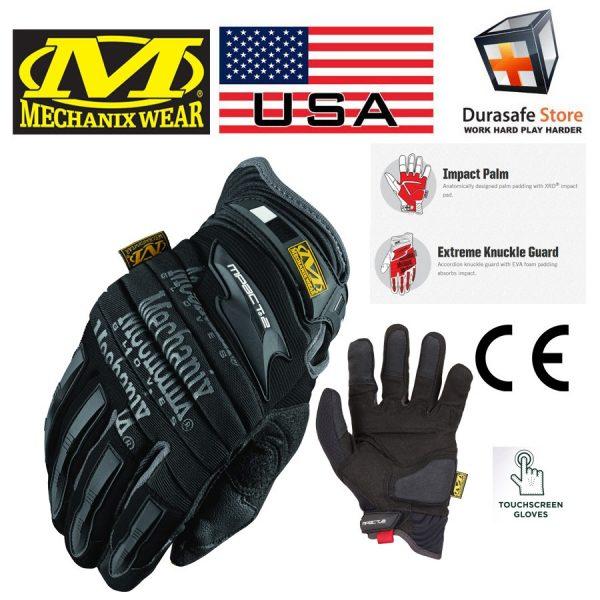 Mechanix MP2-05 M-Pact 2 Heavy Duty Padded Glove Black