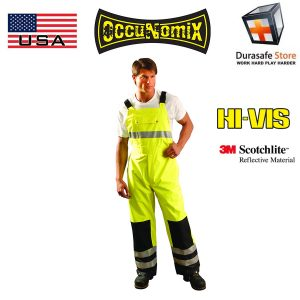Occunomix-LUX-TENBIB-high-Visibilty-Rainwear-Bib-Pants