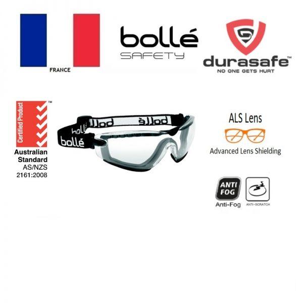 BOLLE 1667101 Cobra TPR Goggle