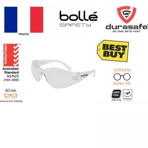 BOLLE 1667201A Bandido Asian Clear Safety Glasse