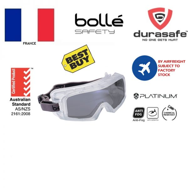 BOLLE 1686102 Coverall 3 Safety Goggles