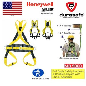 Honeywell-Miller-MB9000-Full-Body-Harness-Back-D-Ring