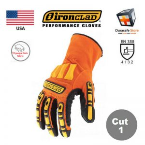 IRONCLAD-Kong-Super-Dexterity-Grip-Impact-Slip-Resistant-Mechanics-Glove-Orange-USA-Size-S-2XL