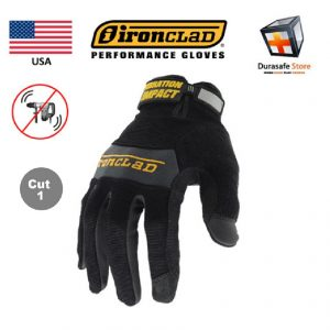 IRONCLAD-WWI-Vibration-Impact-100-Silicone-Gel-Palm-Pads-Glove-Black