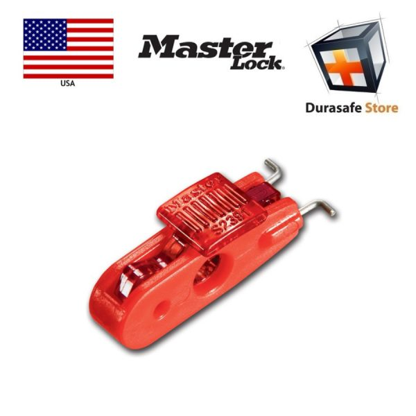 Masterlock S2391 Miniature Circuit Pin Out Breaker Lockout with Toggle Openings