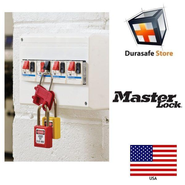 Masterlock S430 Safety Steel Lockout Hasp 4mm Diameter Jaw 2
