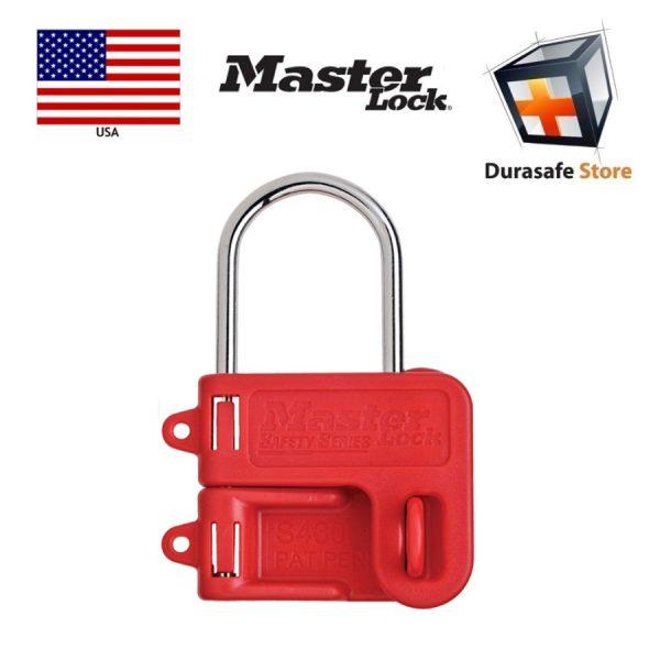 Masterlock S430 Safety Steel Lockout Hasp 4mm Diameter Jaw