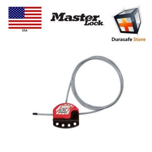 Masterlock-S806-Adjustable-3′-Cable-Lockout.