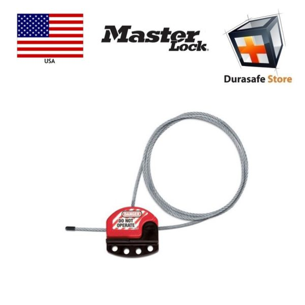 Masterlock S806 Adjustable 3′ Cable Lockout