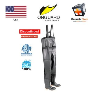 Onguard-86067-56″-Steel-Toe-PVC-Chest-Wader-Black-Size-7-–-12