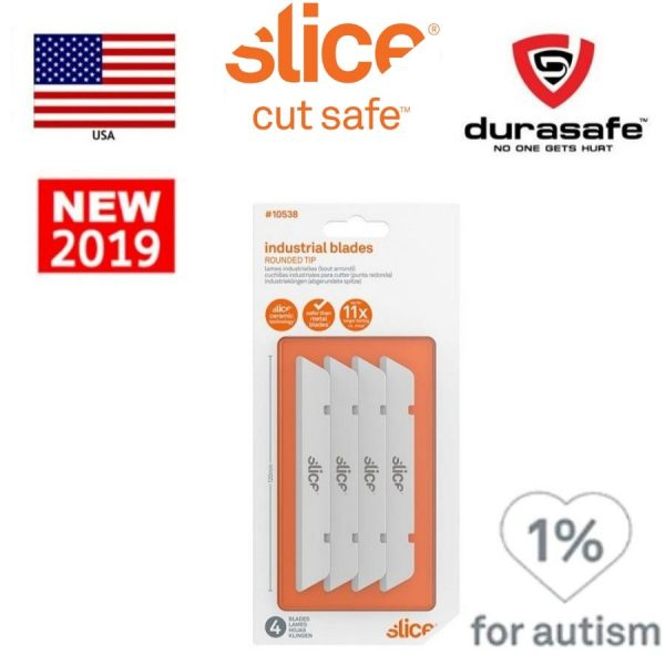SLICE 10538 Industrial Blade (Rounded Tip)