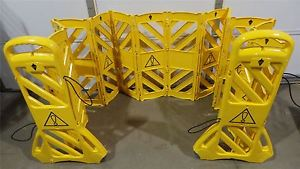 TOUGH GUY 2LEB5 Mobile Safety Barrier System, USA 2