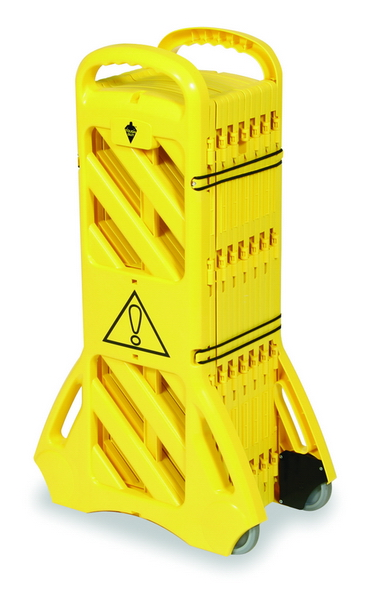 TOUGH GUY 2LEB5 Mobile Safety Barrier System, USA