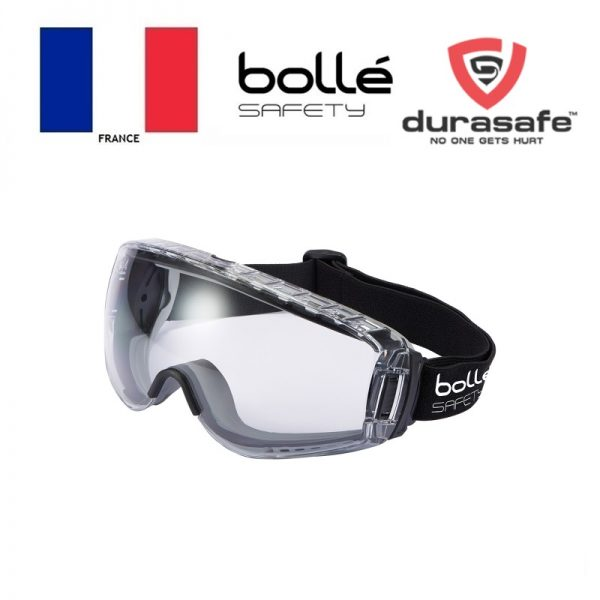 BOLLE 1689110 Pilot 2 Safety Goggle 2