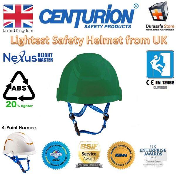 centurion s16 green nexus chinstrap